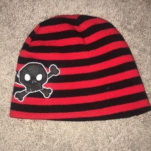 Never worn! Skull & cross bone knit hat!
